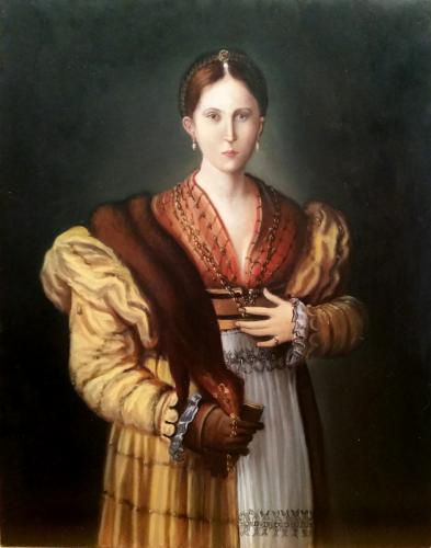 Study of Parmigianino - Antea